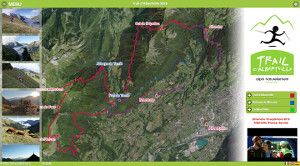 Capture du site Trail d'Albertville 2017