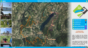 Capture du site Trail du Lac de Paladru 2018