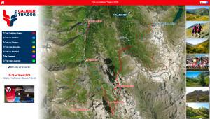 Capture du site Trail du Galibier-Thabor 2019