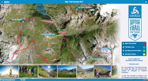 Capture du site Odlo High Trail Vanoise 2018