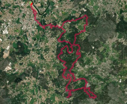 Trace de trail : Santo Thyrso Ultra Trilhos 2019 - Trail Longo