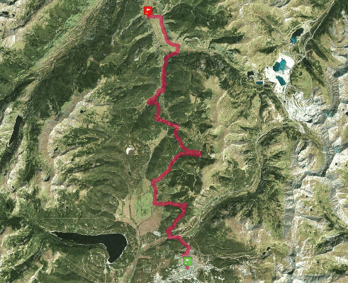 Trace de trail : Transrockies Run 2019 - Transrockies Run3